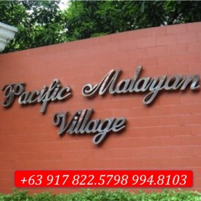 Pacific Malayan Village – Lots for Sale