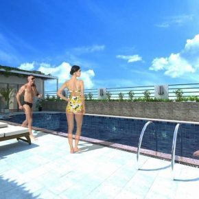 Future  Point Plaza Suites - Best Quezon City Investment near ABS CBN and National Bookstore