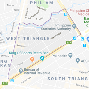 Lot For Sale: West Triangle, Quezon City