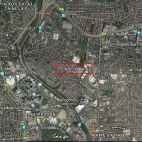 INDUSTRIAL LOT FOR SALE: Brgy Santolan, Pasig City