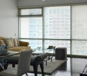 CONDIMINIUM FOR LEASE: One Legazpi Park, Legazpi Village, Makati City (Prime corner 2 BR)
