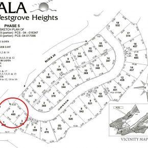 Ayala Westgrove Corner Lot for Sale