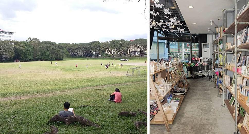 STAFF HOUSE FOR LEASE: Capitol Hills Subdivision, Quezon City