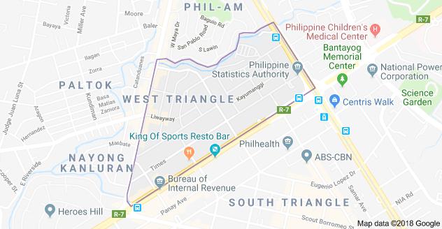 Lot For Sale: West Triangle, Quezon City