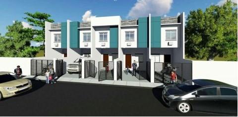 TOWNHOUSE FOR SALE: Mutual Homes, Barangay Putatan, Muntinlupa City