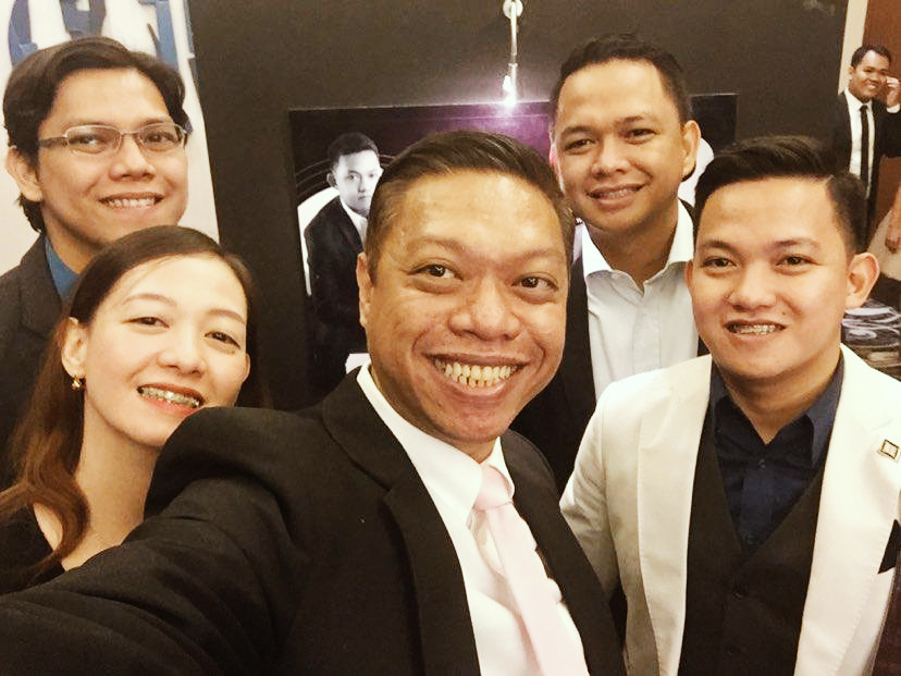Glenn with team 4